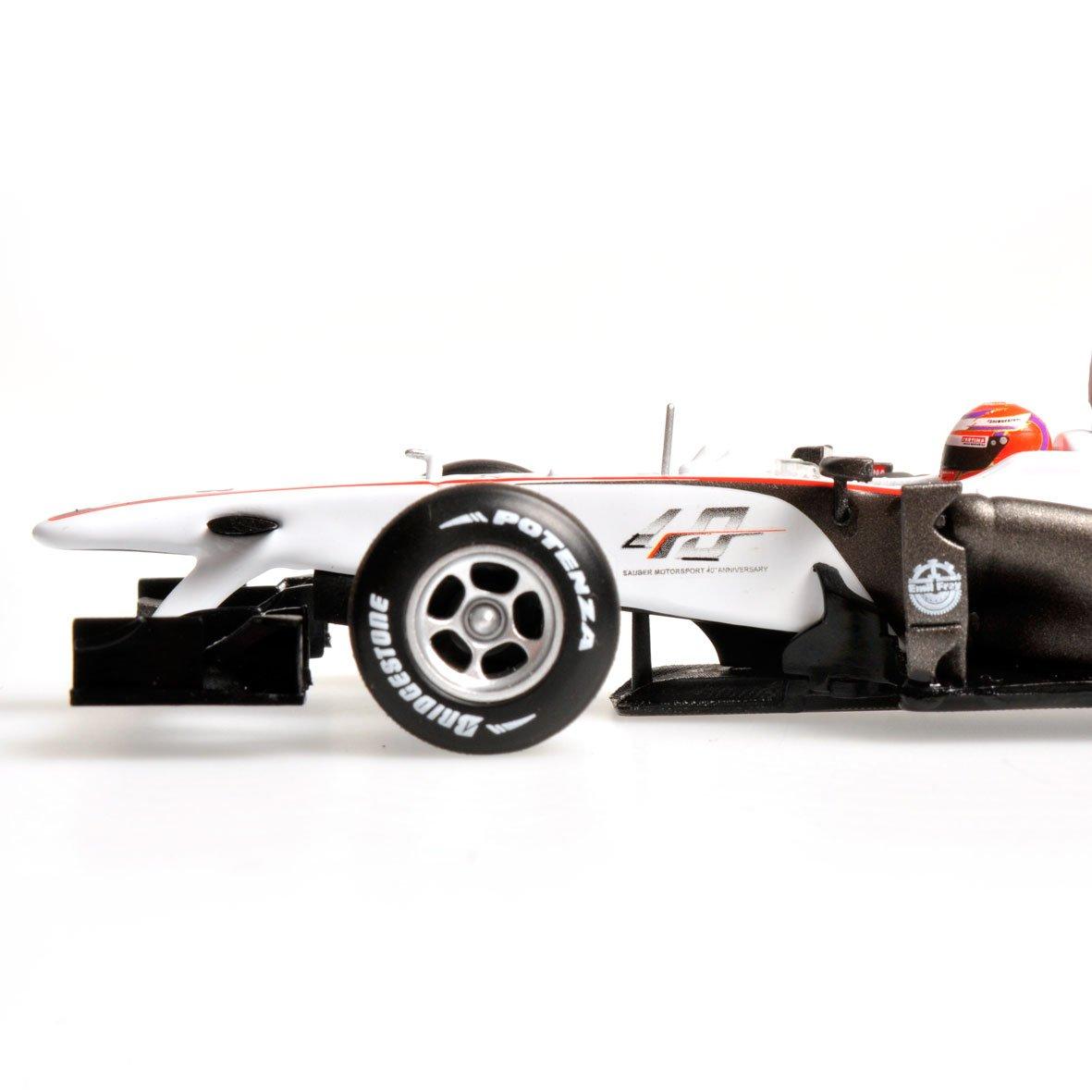 SAUBER C29 KOBAYASHI GERMAN GP 2010 MINICHAMPS 40 YEARS