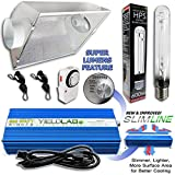 Yield Lab 600w HPS Air Cool Hood Reflector Digital Grow Light Kit