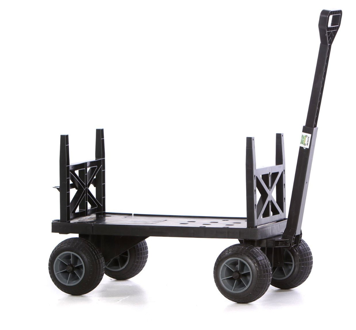 Cooler Cart Ice Chest Box Carrier Wagon with on Wheels Igloo Yeti Coleman Pelican Grizzly Rubbermaid Hauler