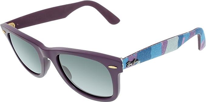 Ray-Ban Women s Wayfarer RB2140-6064 71-50 Purple Wayfarer Sunglasses 5839a5da95