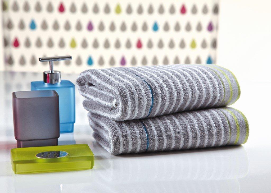 Sorema Drop - Set de 3 toallas, de algodón, (30 x 50 cm, 50 x 100 cm, 70 x 140 cm): Amazon.es: Hogar