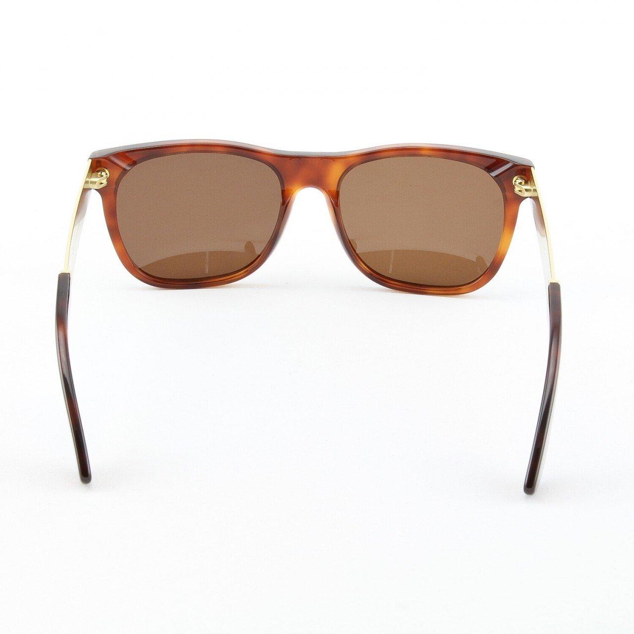 Retro Super Future 364 364 Classic Havana//Y Gold Basic Wayfarer Sunglasses