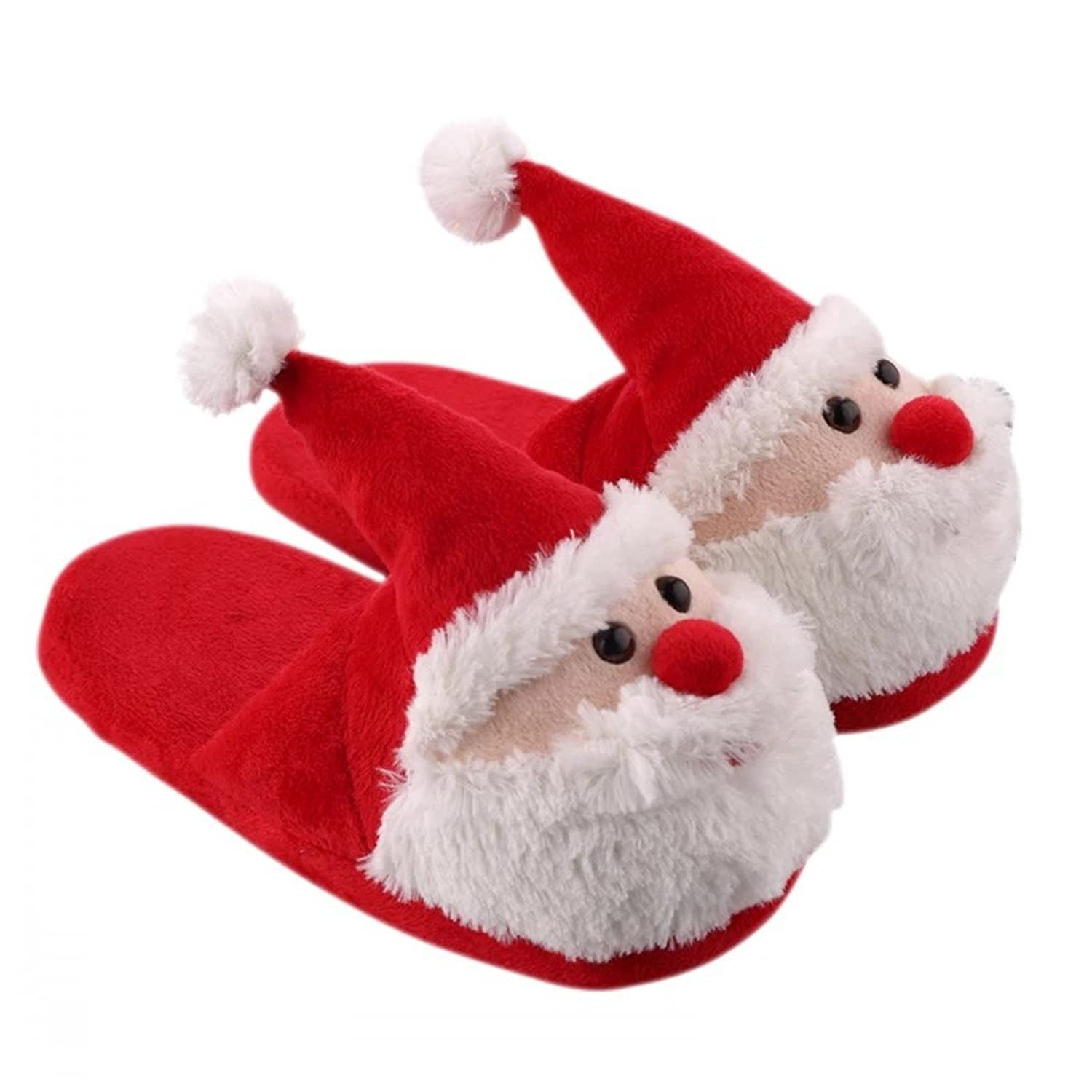 Amazon.com | Elf on the Shelf Boys Girls Sock Top Slippers (Toddler ...
