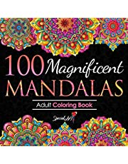 100 Magnificent Mandalas: An Adult Coloring Book with more than 100 Beautiful and Relaxing Mandalas for Stress Relief and Relaxation. (Volume 3)