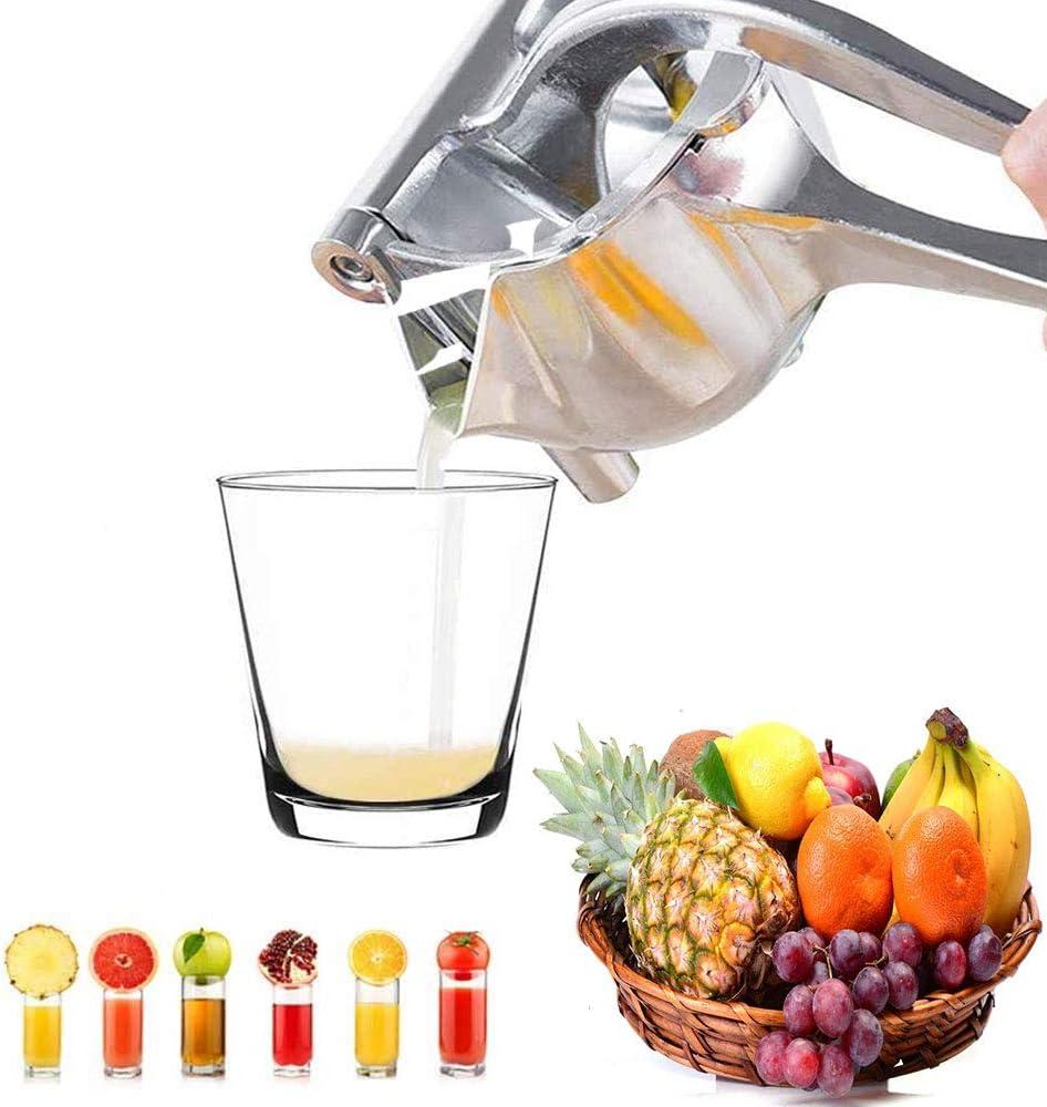 Extractor de Jugo,exprimidor de lim/ón YZG LIFE Exprimidor Manual de Acero Inoxidable,Exprimidor Manual de Frutas Prensa Individual