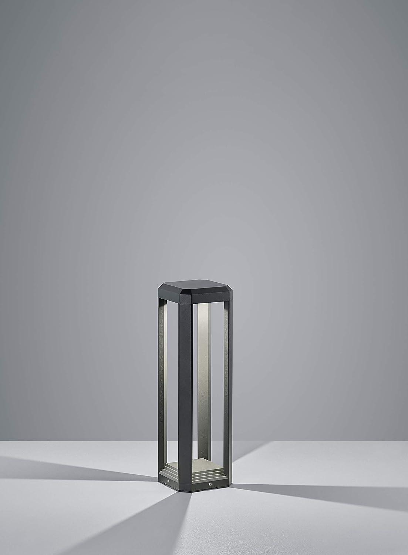 Anthracite Aluminium 11 W Trio Leuchten 522360142 Lampe dexterieur
