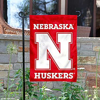 08158916c Amazon.com : College Flags and Banners Co. Nebraska Cornhuskers N ...