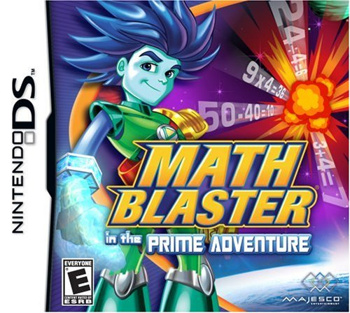 Math Blaster Prime Adventure NDS (Ds Multiplication Games)
