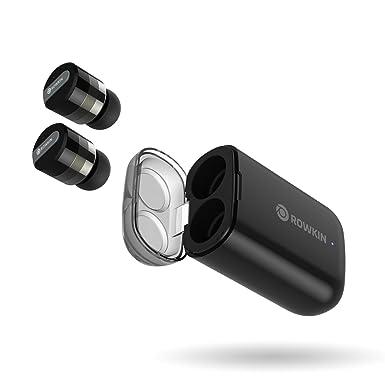 Rowkin Micro: Auriculares inalámbricos con Funda de Carga. Auriculares Bluetooth con micrófono y reducción