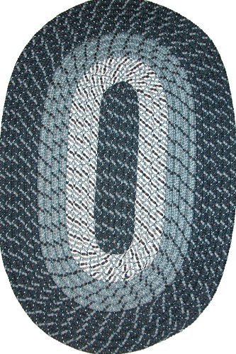 Rug Midnight Oval Blue (Plymouth 20