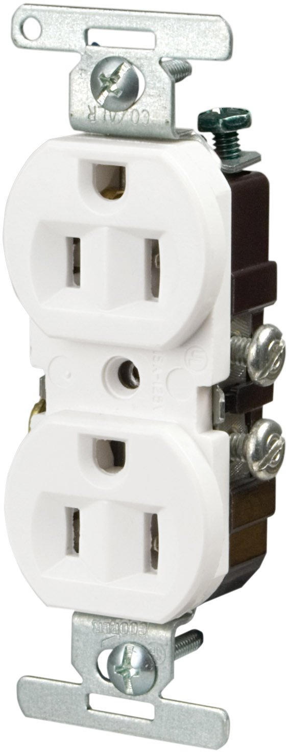 B The Eaton WD1252 2-Pole 3-Wire 50-Amp 125-Volt Surface Mount Power Receptacle