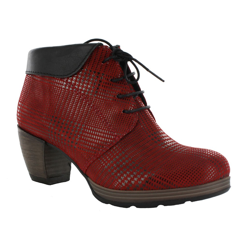Wolky Comfort Boots 07983 Jacquerie B00IZG9LKQ 42 M EU|Red Dessin Suede W/Black Collar