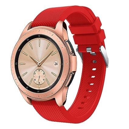 Gusspower Repuesto de Correa Reloj de Silicona para Hombre y ...