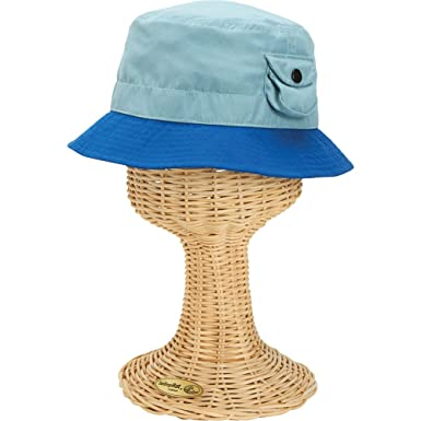 88f03136db4 San Diego Hat Toddler Boys Color Blocked Bucket Hat (One Size - Blue ...