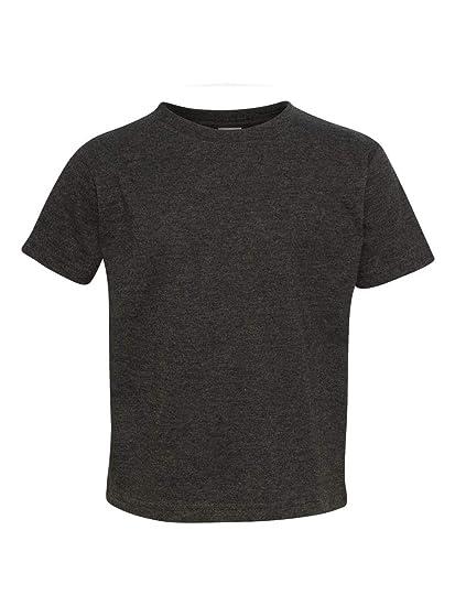 c92ddaf2b Rabbit Skins Toddler Vintage Ringspun Jersey T-Shirt, Vintage Smoke, 2T