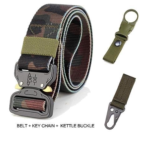 dove acquistare sono diversamente più recente PIDAIKING Cintura Cinghia Tattica Nylon Casual Cinghia di Tela per ...