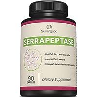 Premium Serrapeptase Enzyme Supplement – Helps Support Sinus Health – Powerful Serrapeptase...