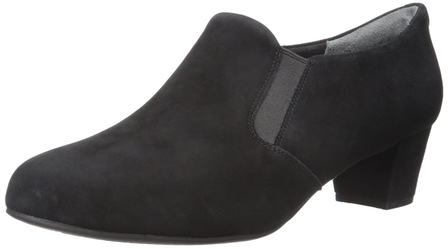 Rockport Women's Total Motion Cherene Boot B01ABRPO34 9 W US|Black Kid Suede