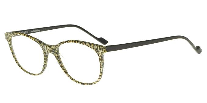new high delicate colors buy sale VANNI Lunettes de Vue PIXEL V1302 IVORY BLACK homme: Amazon ...