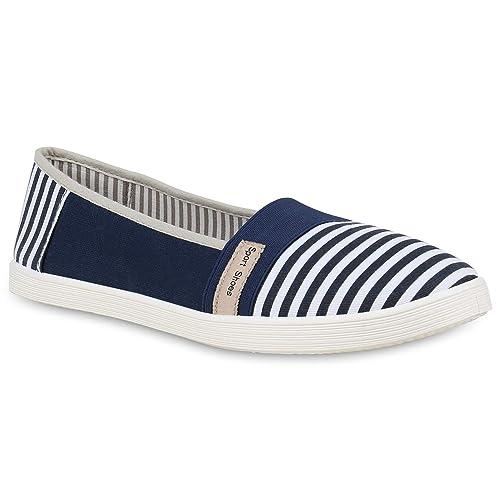 Zapatillas de mujer deportivas tipo Ballerina de Flandell; tela brilante, talla grande: Amazon.es: Zapatos y complementos