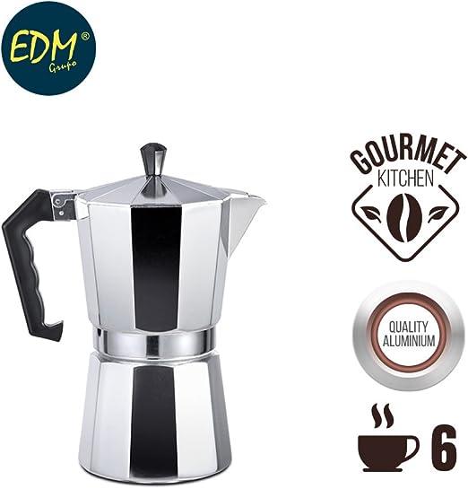 EDM Cafetera Aluminio 6 Tazas: Amazon.es: Iluminación