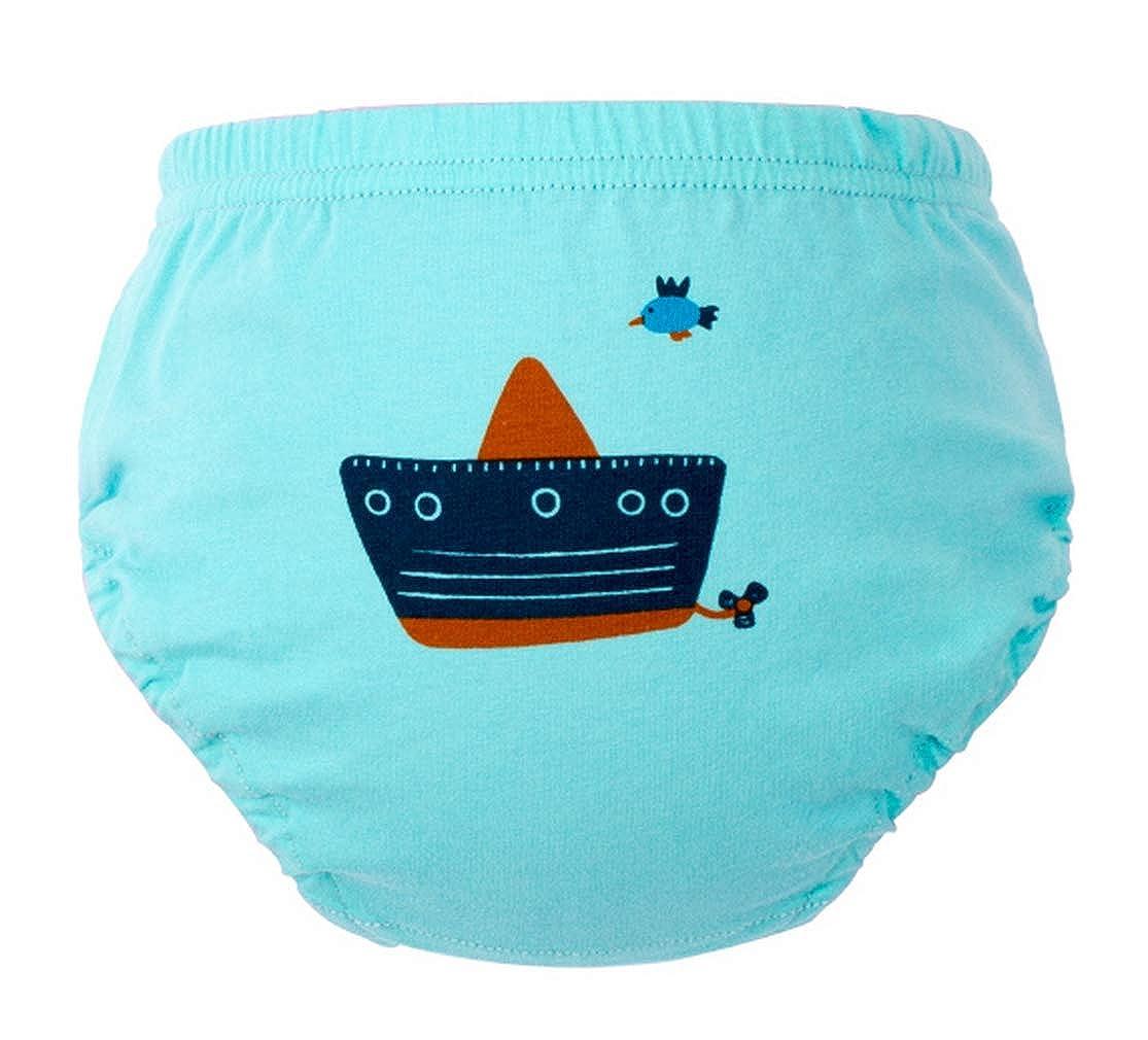 EOZY 4er Pack Baby T/öpfchen Trainingshose Unterw/äsche Kinder Windelhose Lernwindel