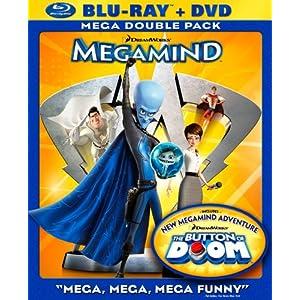 Megamind Blu Ray