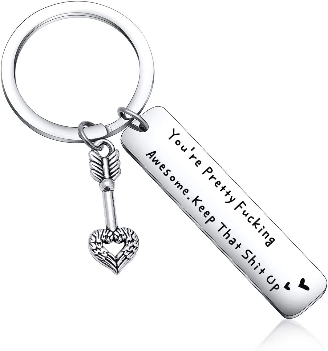 Amazon Com Inspirational Gift Best Friend Keychain Appreciation Gift For Husband Gift Christmas Day Gift For Wife Gift Anniversary Gift Wedding Gift Boyfriend Jewelry Sister Gift Niece Gift Mom Gift Cousin Gift