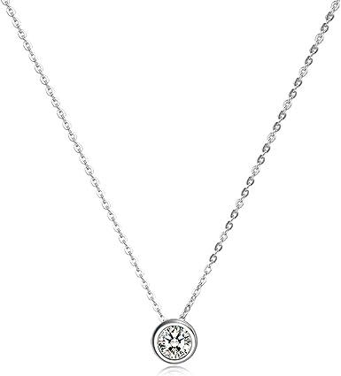 Sterling Silver CZ Pendant
