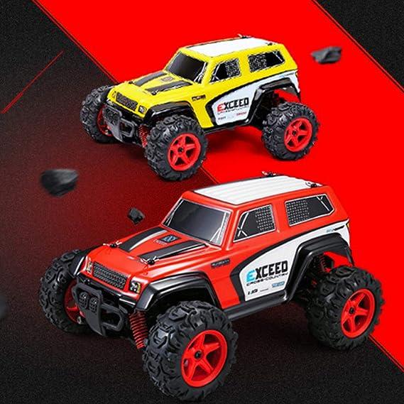 Amazon com: RC Car 1/24 Scale 2 4GHZ 4WD Stunt car High