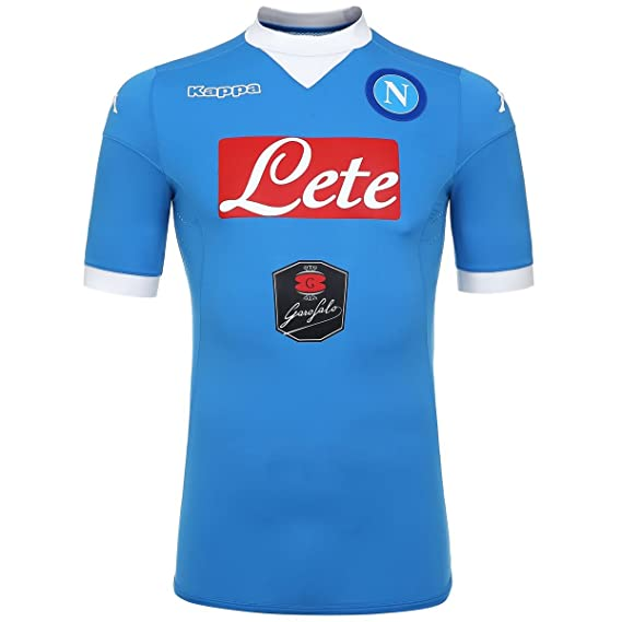 29a0066ec460c Napoli Home Authentic Shirt 2015 2016  Amazon.co.uk  Clothing