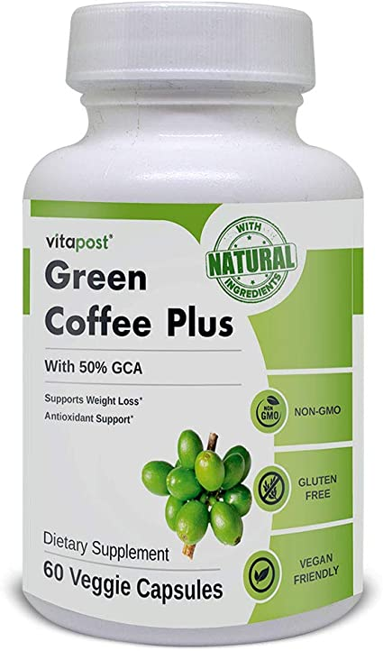Amazon Com Green Coffee Plus Premium Green Coffee Bean Extract
