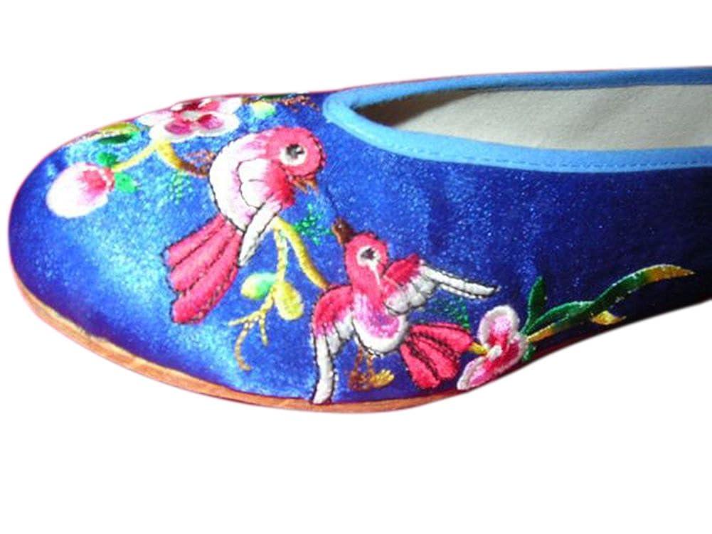 Interact China 100% Handgemachte Bestickte #102 Schuhe Wertvolle Chinesische Stickereikunst #102 Bestickte ee48b4