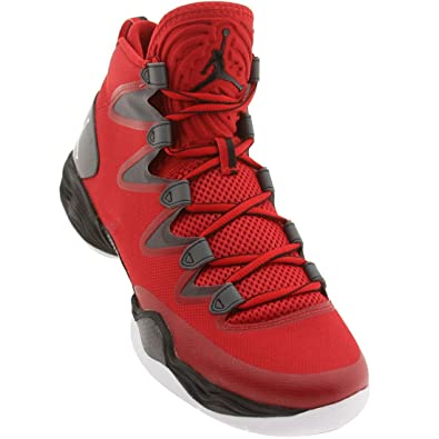 finest selection ad46a dd0c6 NIKE air Jordan XX8 SE Mens hi top Basketball Trainers 616345 Sneakers Shoes  (UK 10 US 11 EU 45, Gym red White Dark Grey Black 601)  Amazon.co.uk  Shoes    ...
