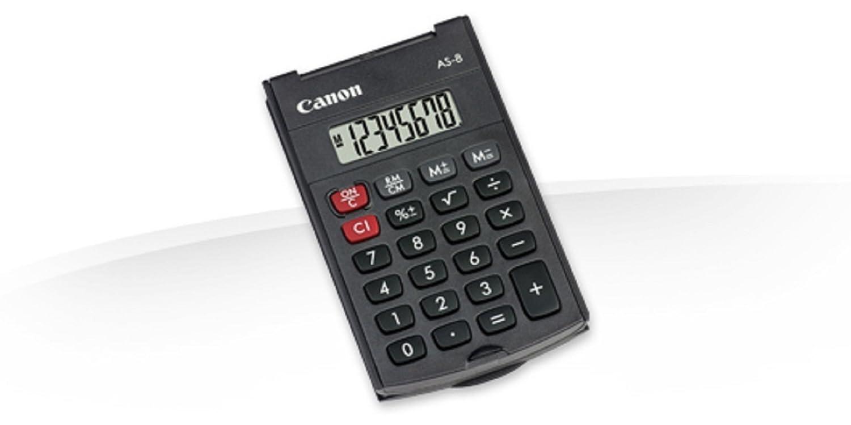 CANON AS-8 POCKET CALCULATOR BLK AS-8 215611