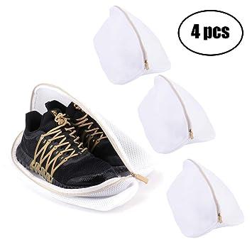 Sneaker Turnschuhe Sport Schuh Stiefel Waschmaschine Tasche Wäsche Schutz Netz
