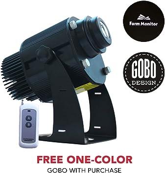 Amazon.com: Instagobo 20W LED personalizado Imagen GOBO Logo ...