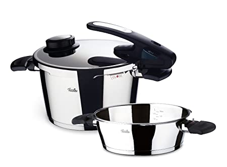Fissler vitavit comfort pressure pan set   williams sonoma.