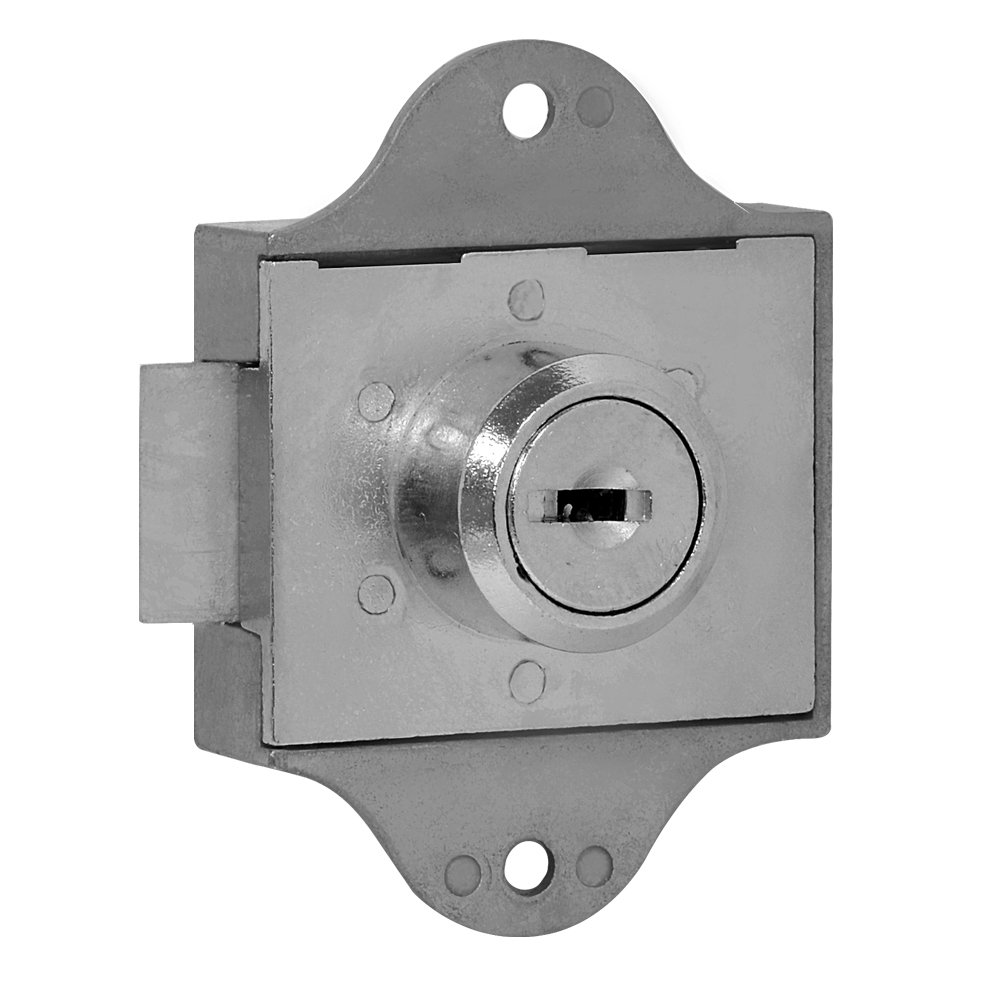 Salsbury Industries 2287 Spring Latch Lock for Aluminum Mailbox Door with 2 Keys