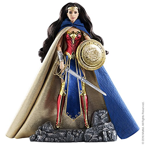 First Appearance Batman Costume (Barbie Amazon Princess Wonder Woman Doll SDCC Exclusive 2016)