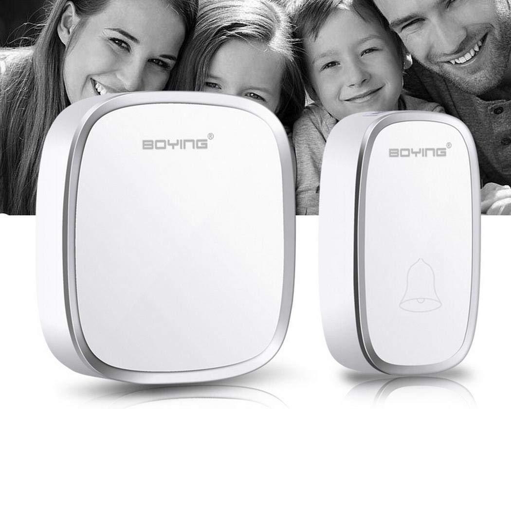 Kaimu Wireless Adjustable Volume Doorbell Waterproof 36 Songs Smart Doorbells Push Buttons