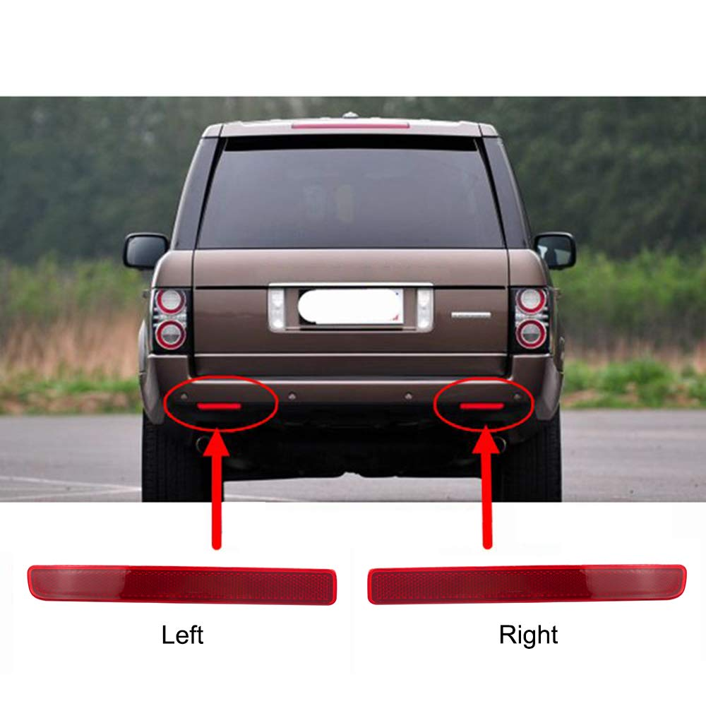 Rear Right Bumper Corner Reflector For Land Range Rover Discovery LR3 LR4 2010+