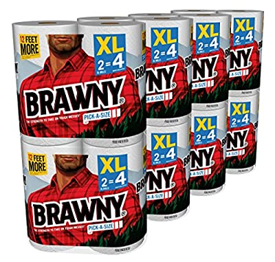 Brawny Pick-a-Size Paper Towels, 16XL Rolls