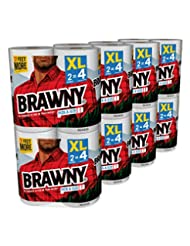 Brawny Pick-a-Size Paper Towels, White, XL Rolls, pack of 16 ...