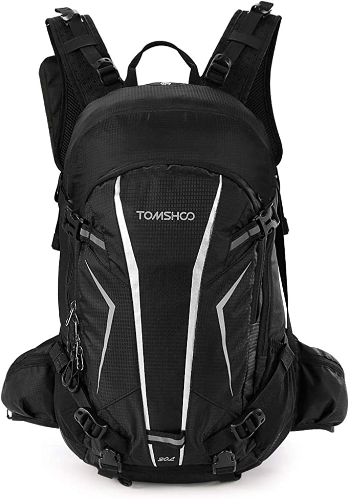 TOMSHOO 20L//30L Cycling Backpack Lightweight Waterproof Backpack with Rain Cover Helmet Cover