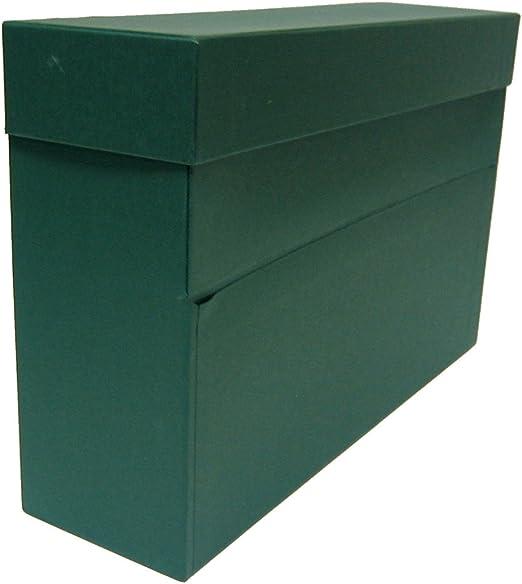 Mariola 944808 - Caja de transferencia A4, color verde: Amazon.es: Oficina y papelería