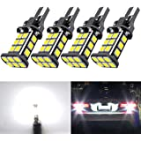 921 LED Car Bulb Upgrade Extremely Bright T15 912 W16W LED 921 Bulbs 3030 Chipsets 24-SMD CANBUS LED Lamps Used for Backup Re