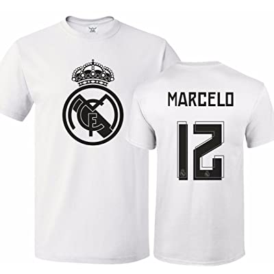new style 8922b 6befe Tcamp Real Madrid Shirt Marcelo Vieira #12 Jersey Men T ...