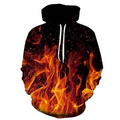 8db265786f64 Fire Printed 3D Men Women Hoodies 6XL Sweatshirts Hooded Jacket Novelty  Streetwear Pullover LMS029 6XL
