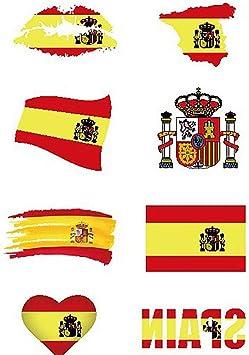 1 Ajuste Impermeable España Copa Mundial Nacional De Las Etiquetas ...